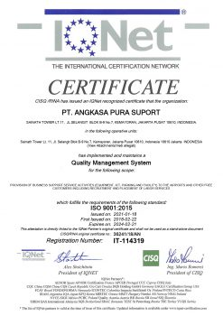 RINA - THE INTERNATIONAL CERTIFICATION NETWORK